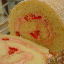 Strawberry Cream Roll Recipe