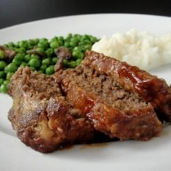 Upside-Down Barbeque Meatloaf  Recipe