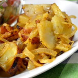 Grilled Onions and Potatoes Recipe
