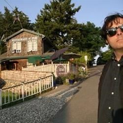 Jim in Front of Nell Thorn in La Conner