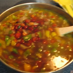 Three Bean Soup Recipe