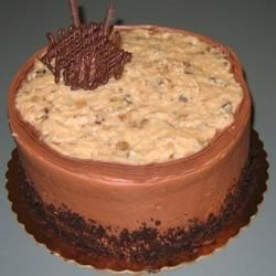 Non-Dairy Chocolate Cake with German Chocolate Frosting Recipe