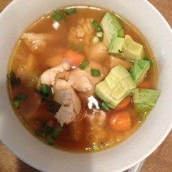 Caldo De Pollo (Mexican Chicken Soup) Recipe