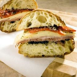Muffuletta Sandwich Recipe