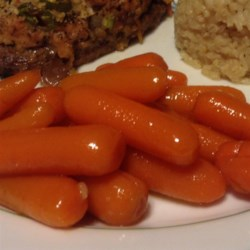 Glazed Dijon Carrots Recipe