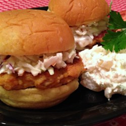 Buffalo Chicken Wing Sliders Recipe