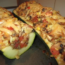 Italian-Style Stuffed Zucchini  (Kid-Friendly) Recipe