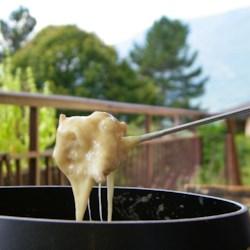 Wine Cheese Fondue