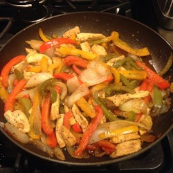 Chicken and Peppers with Balsamic Vinegar Recipe