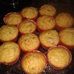 Date Flecked Orange Muffins Recipe