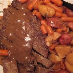 My slow cooker pot roast