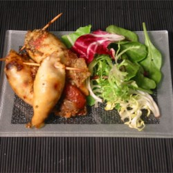 Spicy Stuffed Squid Recipe