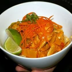 Red Thai Curry with Chicken