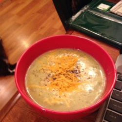 Potato, Broccoli and Cheese Soup Recipe