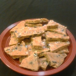 Almond Cranberry Brittle