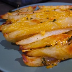 Cheesy Baked Crispy Fries Recipe