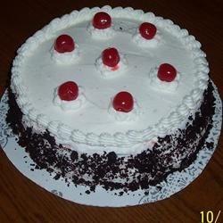 Jenny's Black Forest Cake
