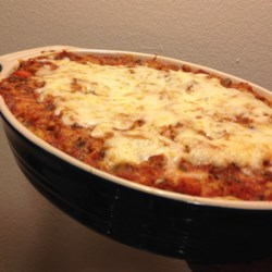 ... baked spaghetti a hearty baked spaghetti casserole with three kinds of