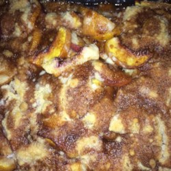 Peach Cobbler Dump Cake II Recipe