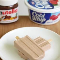 Nutella(R) Ice Pops Recipe