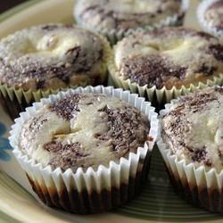 Grandma Gudgel's Black Bottom Cupcakes