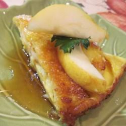 german pear pancake printer friendly