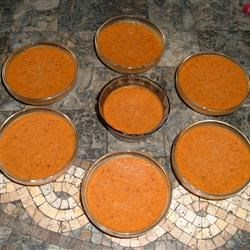 Pumpkin Custard with a Kick Recipe