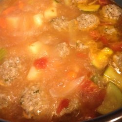 Albondigas Soup III Recipe