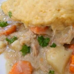 Mom's Chicken and Dumplings (Slow Cooker Version) Recipe