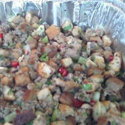 first thanksgiving stuffing