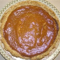 Perfect Pumpkin Pie!