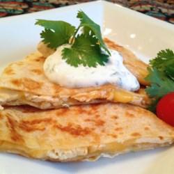Cilantro-Lime Yogurt Sauce Recipe