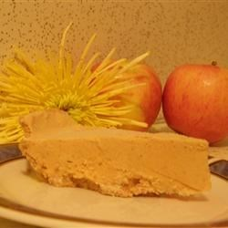 Frosty Pumpkin Pie Recipe