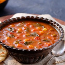 Indian-Spiced Bean-and-Tomato Soup Recipes — Dishmaps