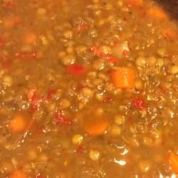 Leslie's Ham Lentil Soup Recipe