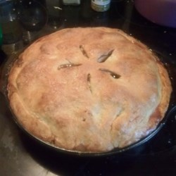 Aunt Carol's Apple Pie Recipe