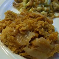 Photo of Slow Cooker Sweet Potato Casserole by CORWYNN DARKHOLME