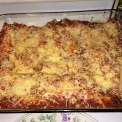 Cannelloni Florentine Recipe