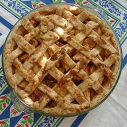 Grandma Covington's Cheese Apple Pie Crust Recipe
