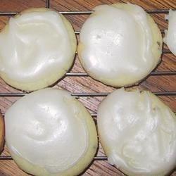 Glazed Anise Cookies