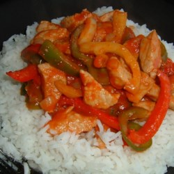 Pork and Pepper Stew Recipe