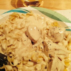 Slow Cooker Chicken Alfredo Recipe