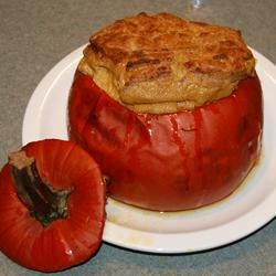 Baked Whole Pumpkin Recipe