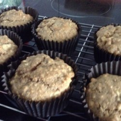 Emily's Famous Banana Oat Muffins  Recipe