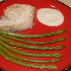 Lemon Thyme Swordfish with Asparagus Recipe