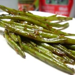 Chinese Green Bean Stir-Fry Recipe