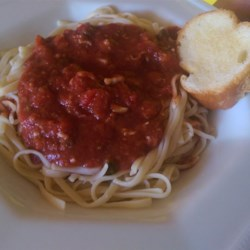 Spaghetti With Red Clam Sauce Recipe
