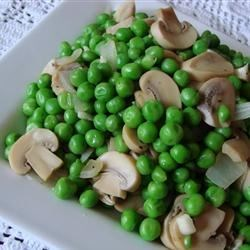Photo of Peas with Mushrooms by MOLSON7
