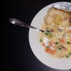 Potato, Bacon, and Corn Chowder Recipe