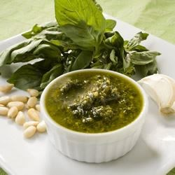 Simple Garlic and Basil Pesto Recipe